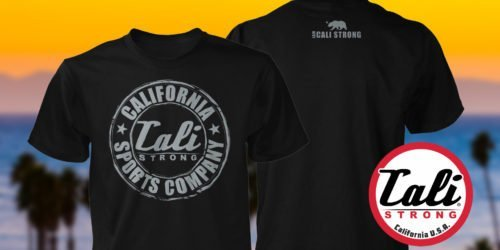CSC Classic T-shirt From CALI Strong The California Sports Company