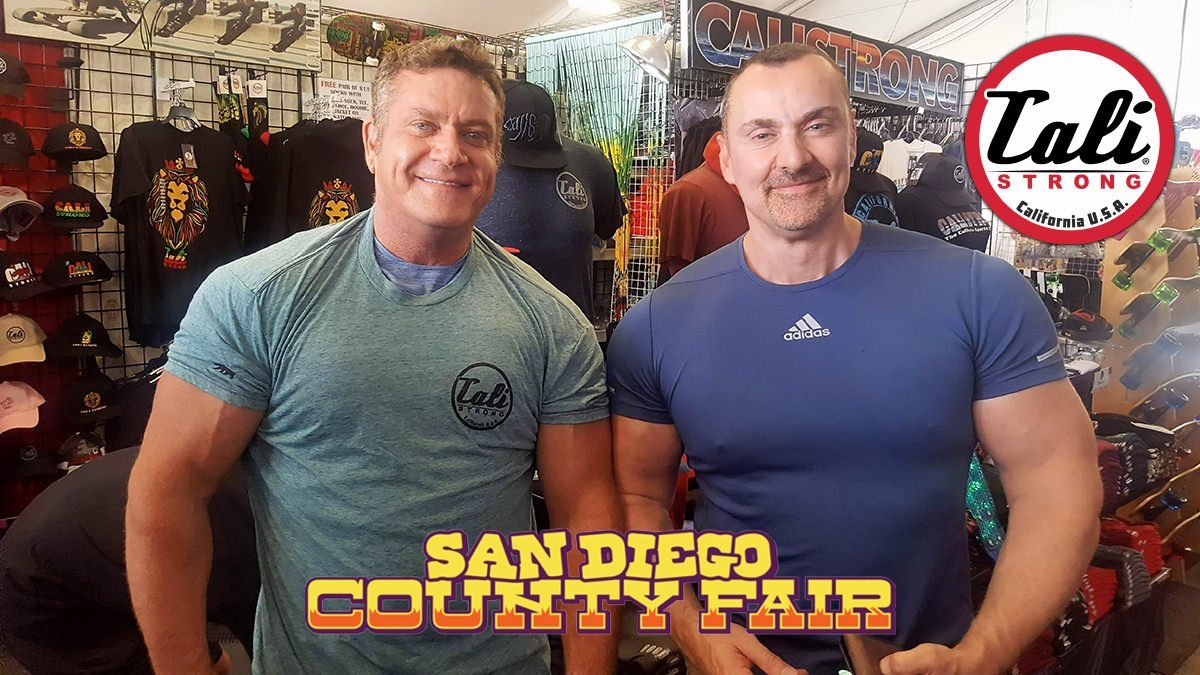 It's a gun show in the CALI Strong tent at the San Diego County Fair Seaside Booth 3313!