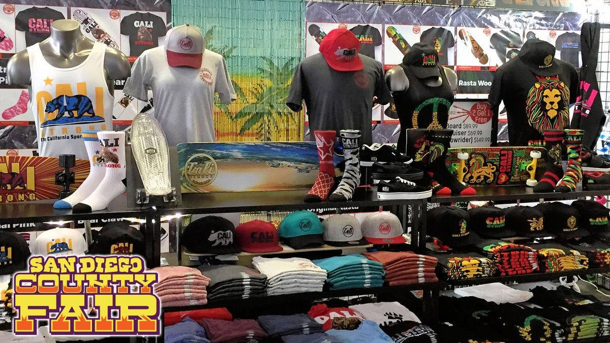 CALI Strong San Diego County Fair 2017 at the Del Mar Fairgrounds Seaside Tent Booth 3313