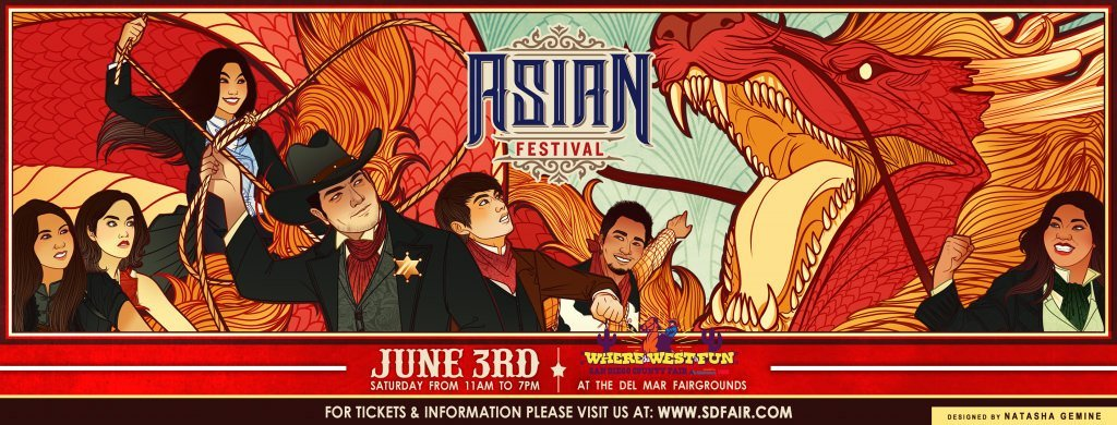Asian Festival: Saturday, June 3