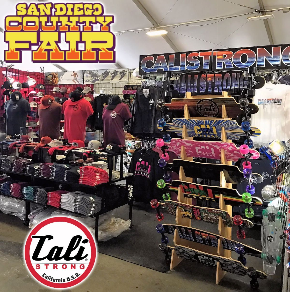 San Diego County Fair Seaside Tent Booth #3313