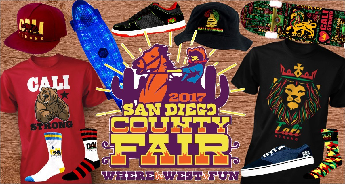 CALI Strong At The San Diego County Fair / Del Mar Fairgrounds 2017