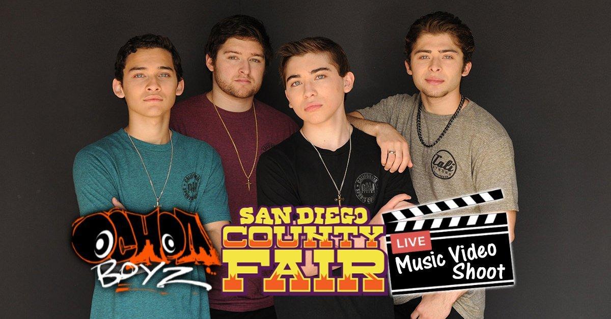 Ochoa Boyz Music Video Shoot At San Diego County Fair In CALI Strong!