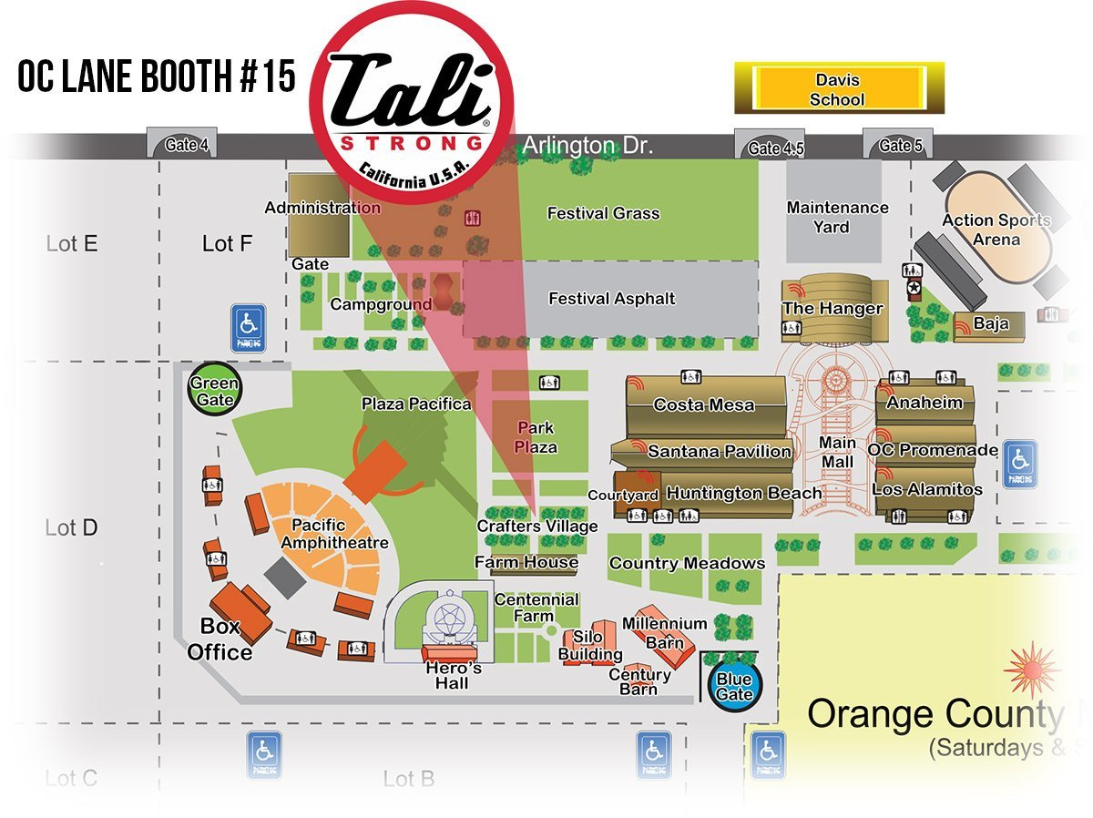 Find us at the OC Fair on OC Lane Booth #15 in the Crafter's Village.