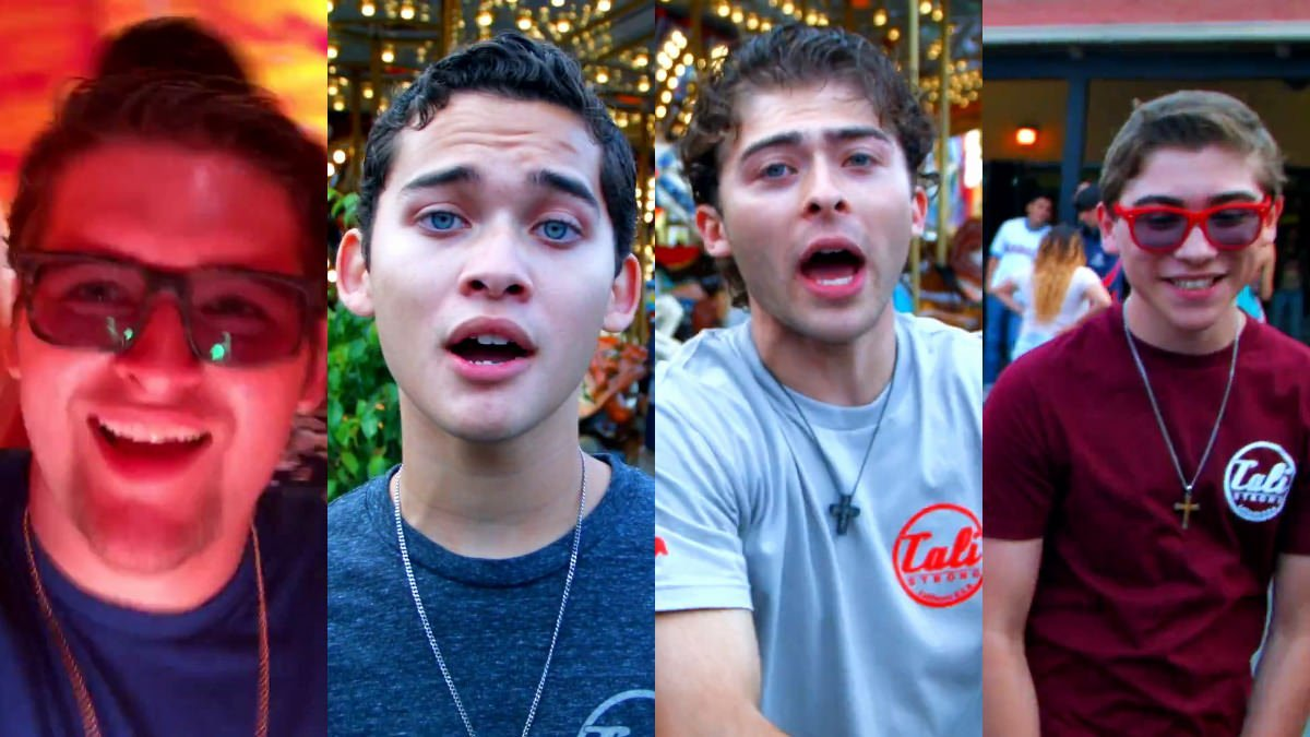 Hey What's Up (Official Video) By The Ochoa Boyz (Rick Ochoa, Robert Ochoa, Ryan Ochoa, & Raymond Ochoa)