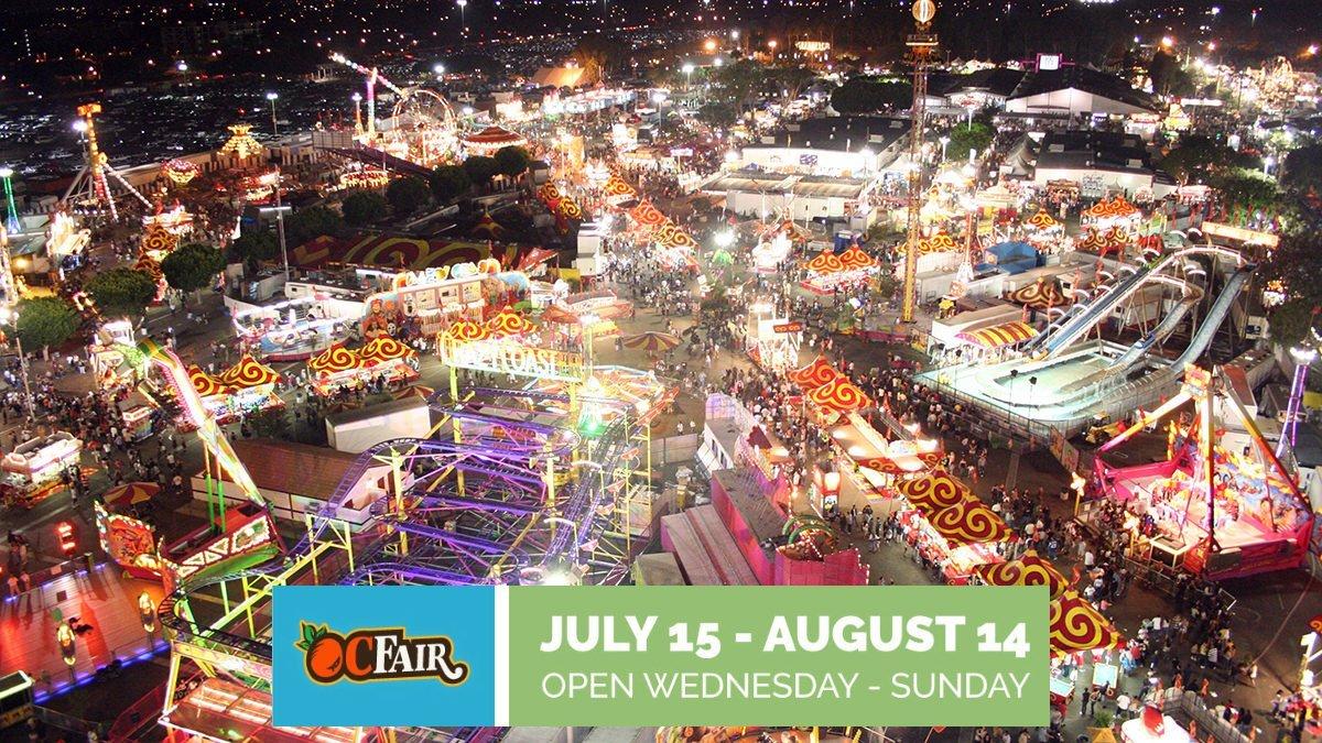 The OC Fair in Orange County California.